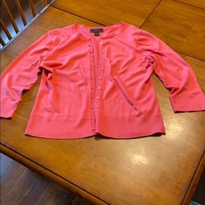 Express Pink Cardigan